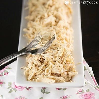 Easy Slow Cooker Shredded Chicken Recipe