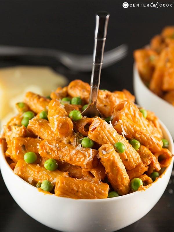 Spicy chicken rigatoni 7