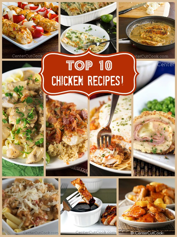 10 Quick & Easy Chicken Recipes