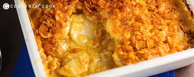 Cheesy Scalloped Potatoes Gratin