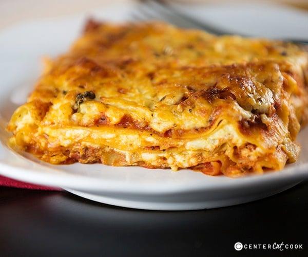 Classic lasagna 5