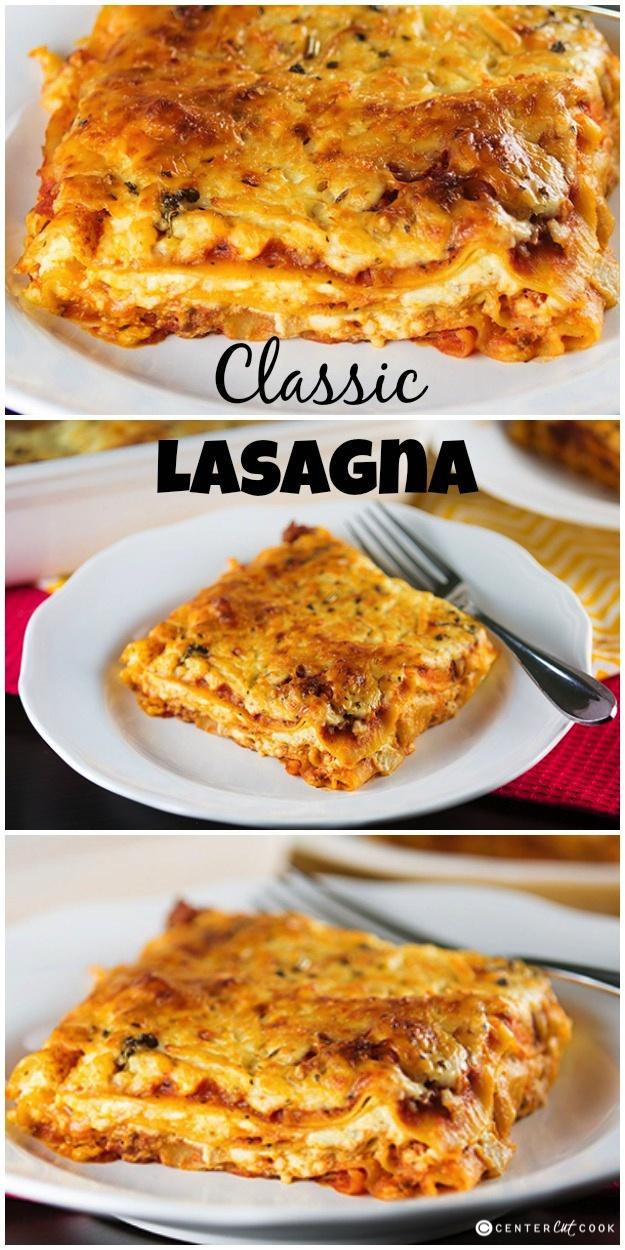Classic lasagna 6