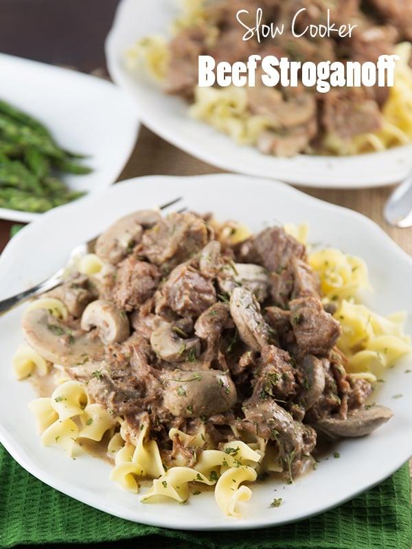 Crock pot beef stroganoff 5
