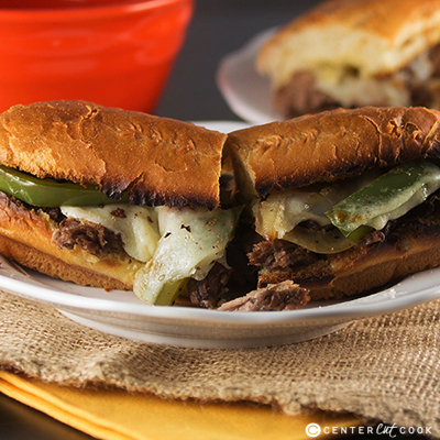 Slow cooker french dip sandwiches 2