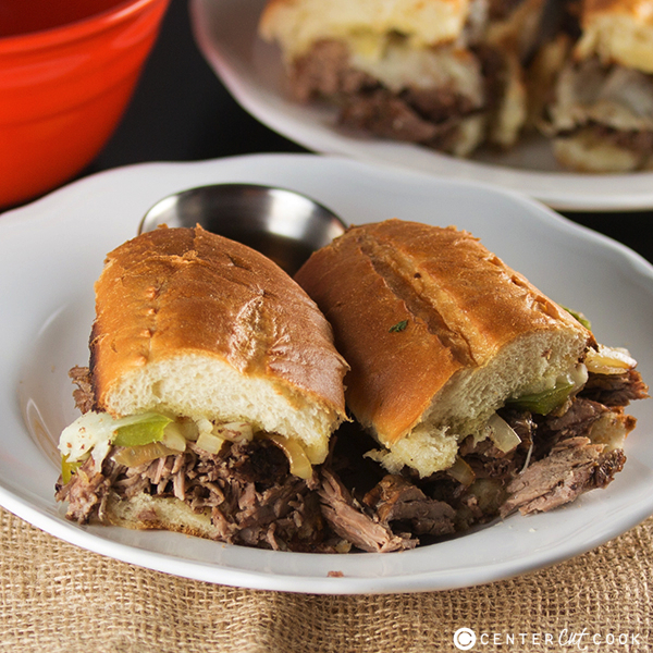 Slow cooker french dip sandwiches 5