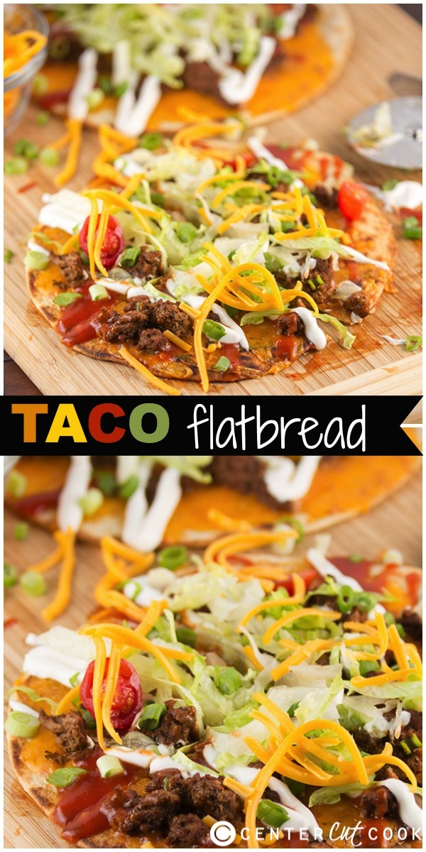 Taco flatbread pizza 8