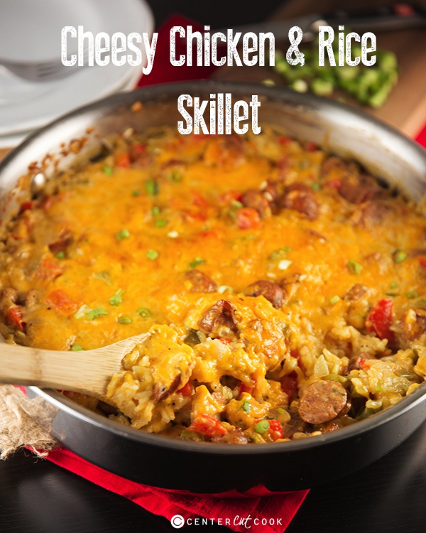 Cheesy chicken and rice casserole 6