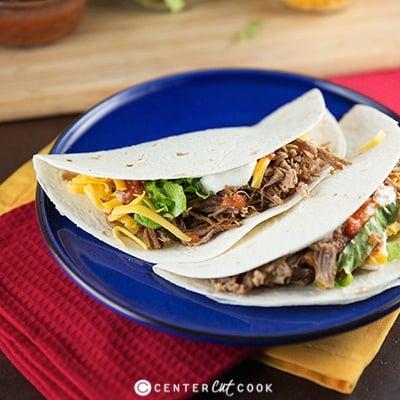 Slow Cooker Beef Tacos