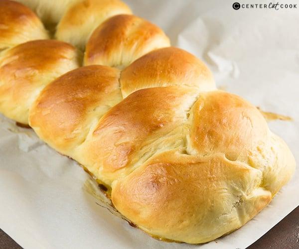 Challah bread 3