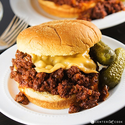 Slow cooker sloppy joes 2