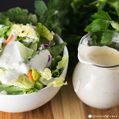 Buttermilk ranch dressing 2