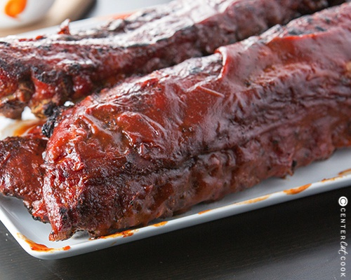 Grilled bbq ribs 4