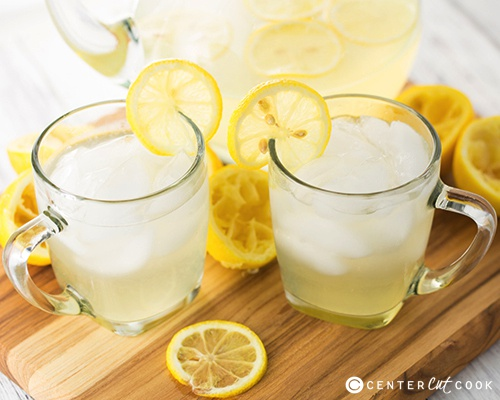 Homemade lemonade 3