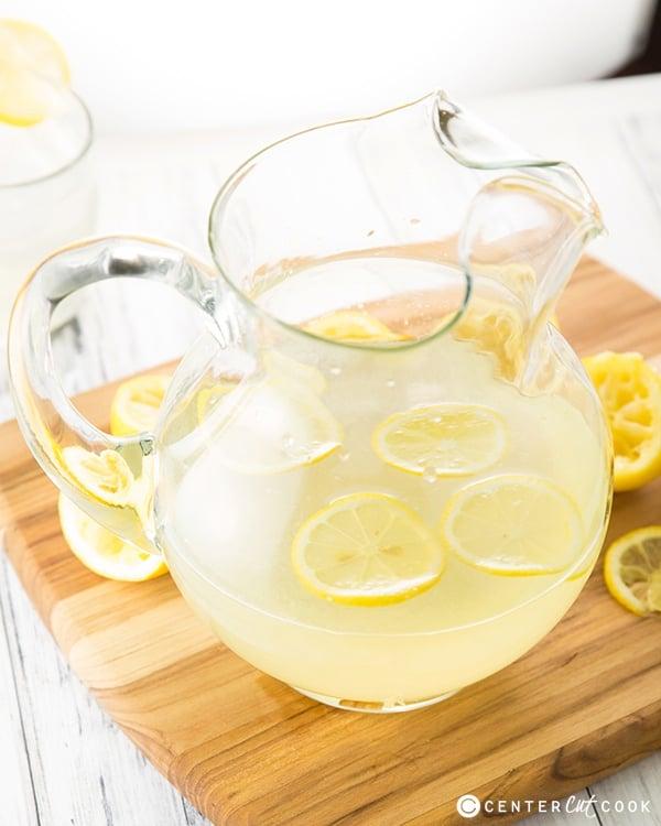 Homemade lemonade 5