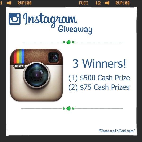 Instagram giveaway fb