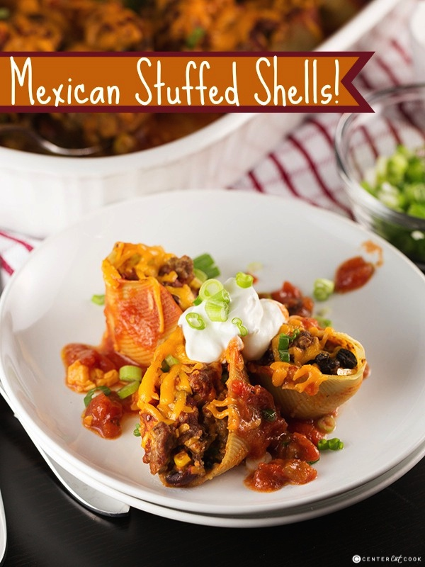 Mexican stuffed shells 16