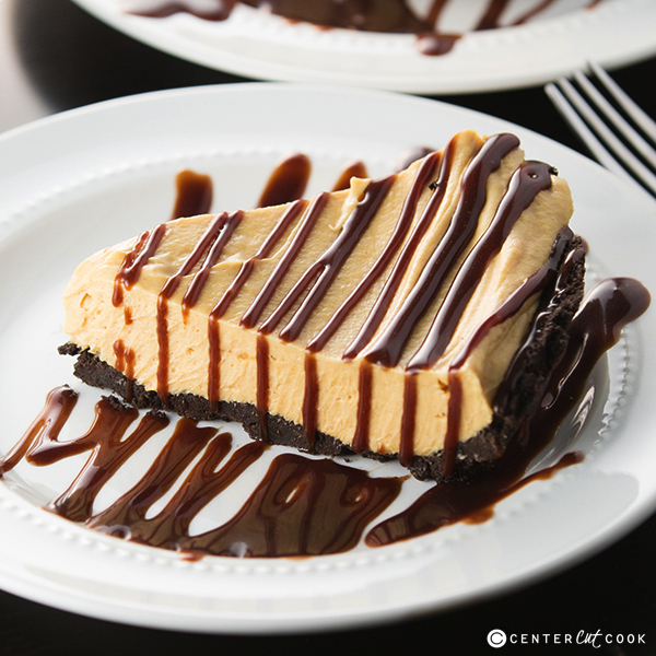 Peanut butter fudge pie 3
