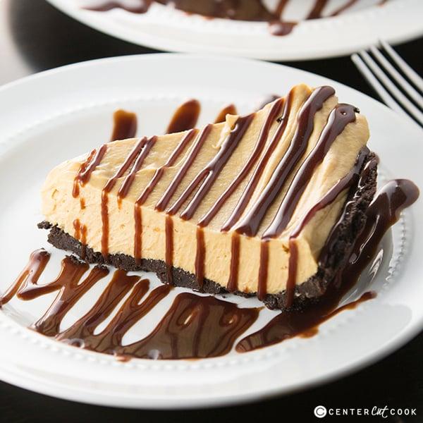Peanut butter fudge pie 3
