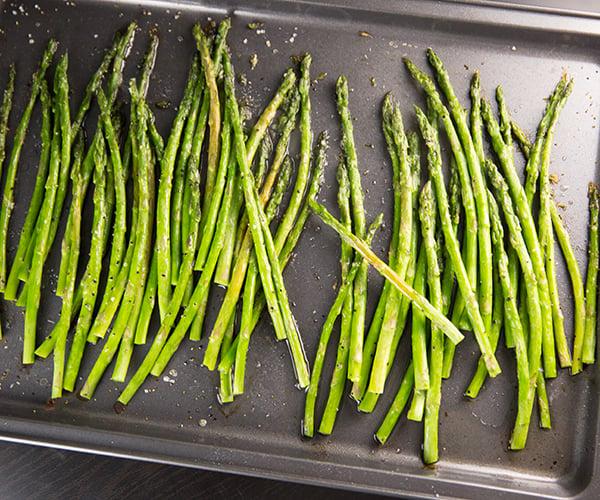 Roasted asparagus 3