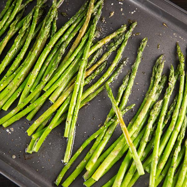 Roasted asparagus fb