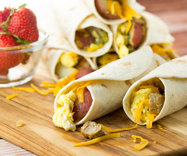 Breakfast burritos 3