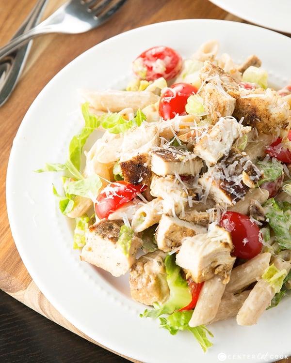 Ceasar pasta salad 3