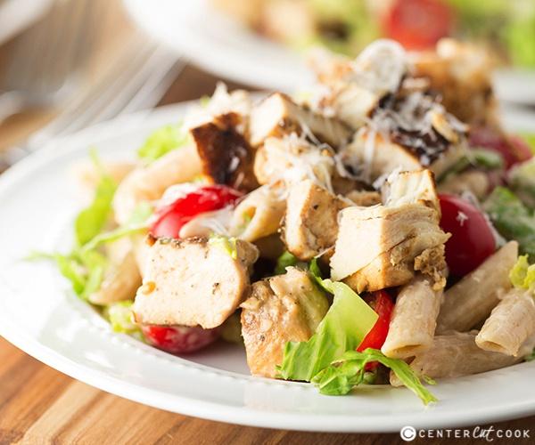 Ceasar pasta salad 4