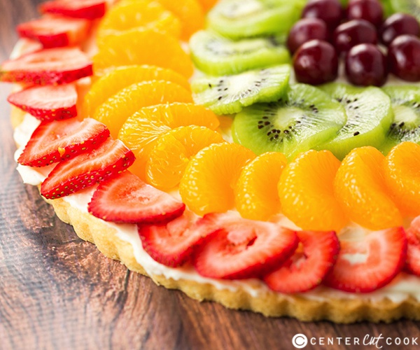 what fruit are you fruit pizza crust healthy