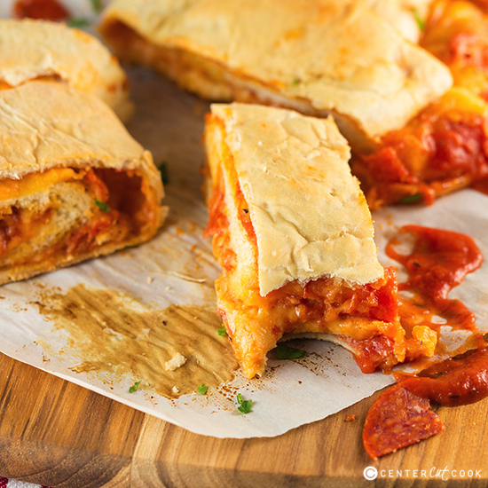 Pepperoni Pizza Bread Roll Up Recipe