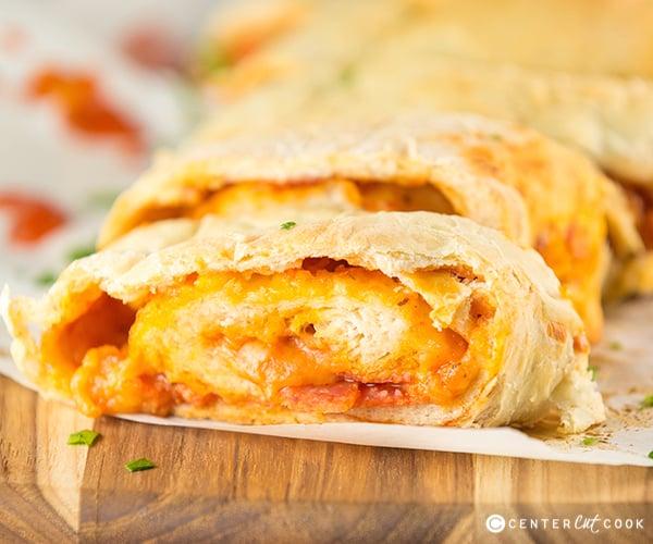 Pepperoni pizza bread 3