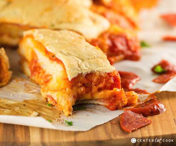 Pepperoni pizza bread 4