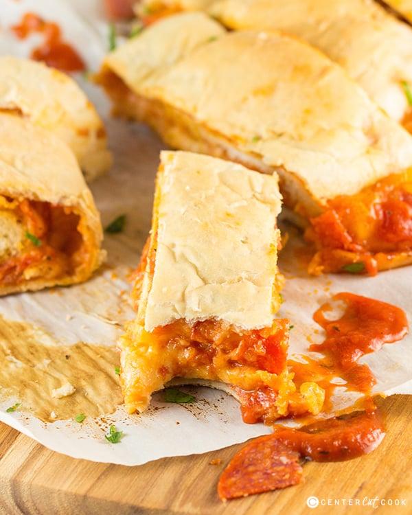 Pepperoni pizza bread 5