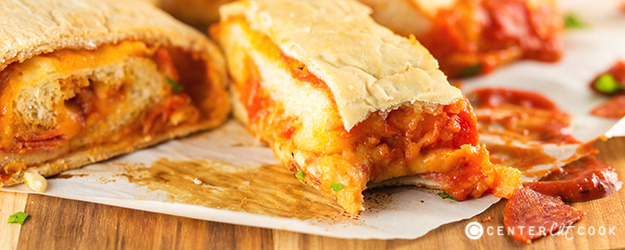 Pepperoni Pizza Bread Roll-Up