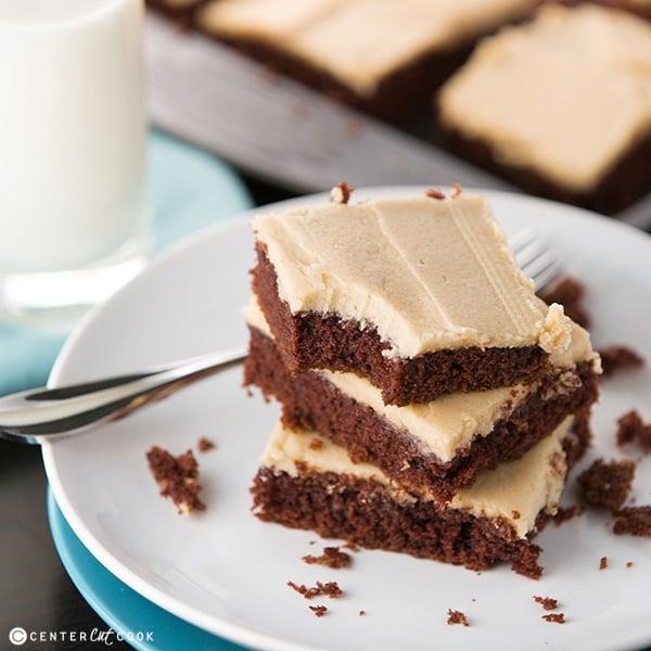 Chocolate sheet cake 2