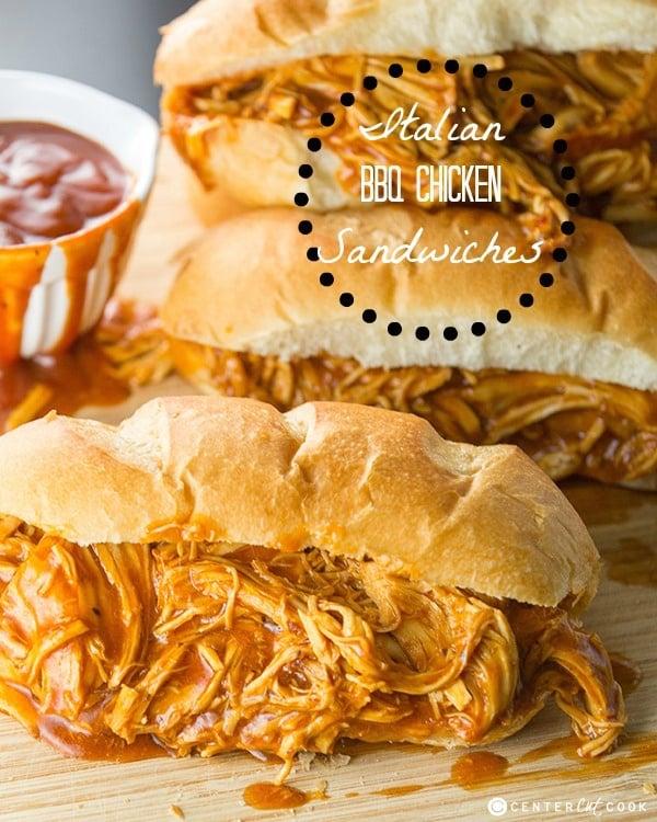 Italian bbq chicken sandwiches 5