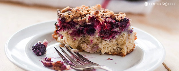 Berry crumble cake 1