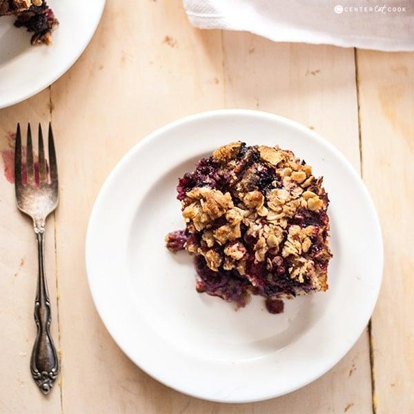 Berry crumble cake 2