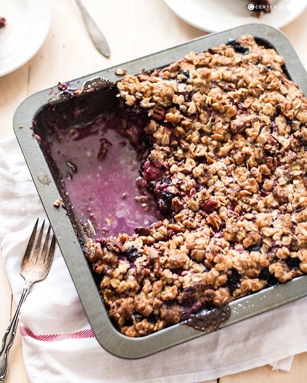 Berry crumble cake 3