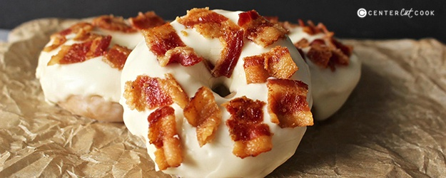Maple bacon donuts 4