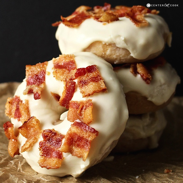 Maple bacon donuts 5