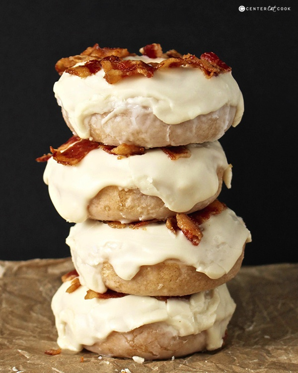 Maple bacon donuts 6