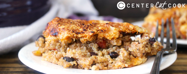 Easy Mexican Quinoa Bake
