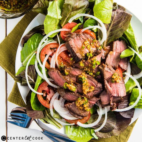 ginger beef salad 3