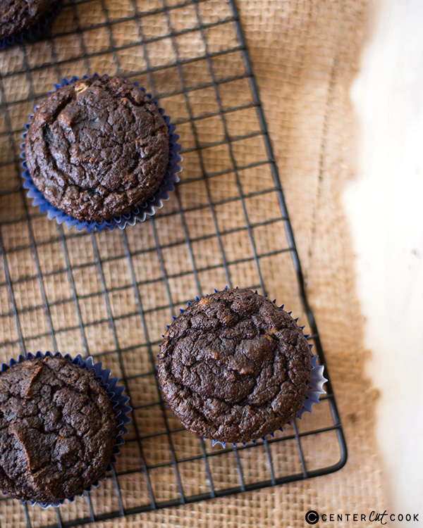 gluten free double chocolate muffins 3