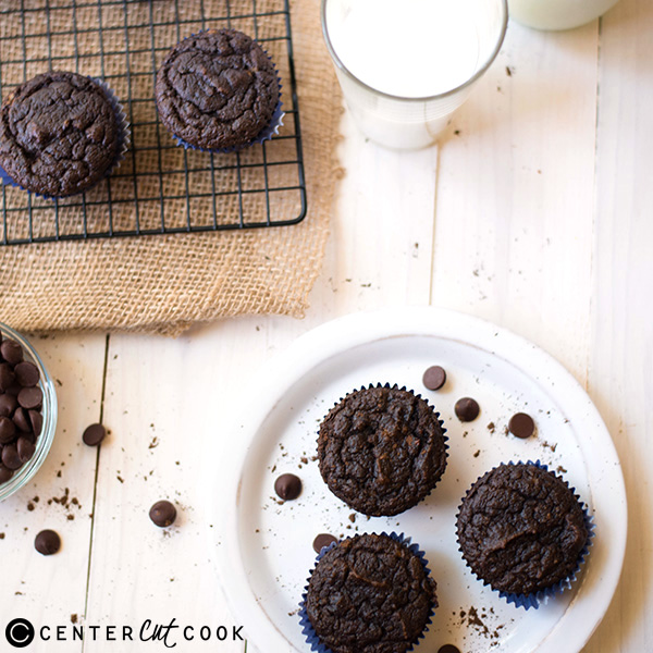 gluten free double chocolate muffins 4