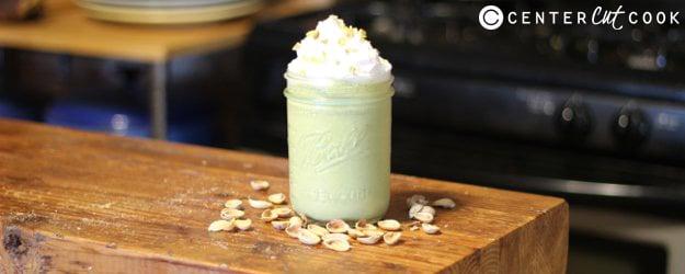 pistachio smoothie 1