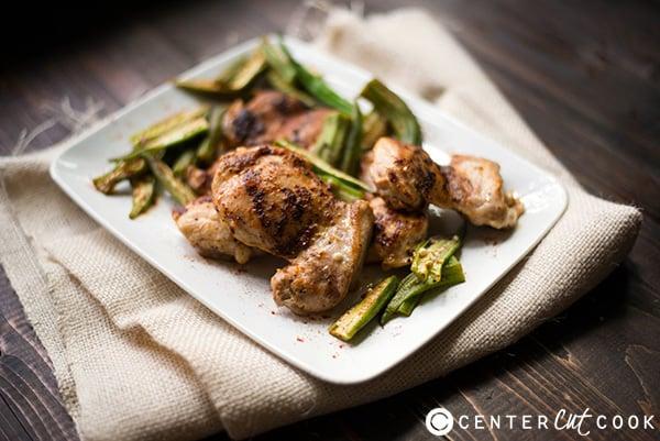 roasted chicken okra 2