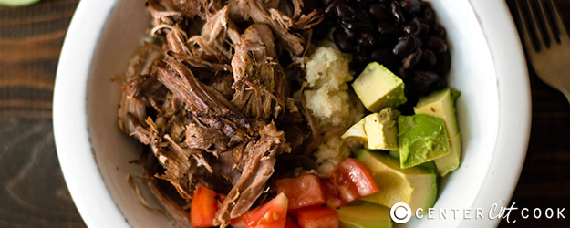 Slow Cooker Carnitas Bowl
