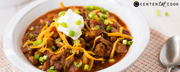 Slow Cooker Chili with Beans