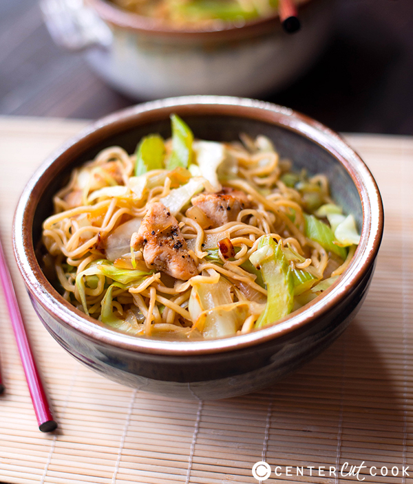 25 minute chicken chow mein 2